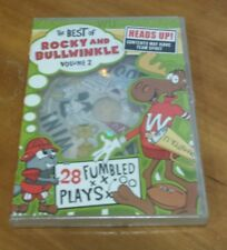 The Best of Rocky and Bullwinkle: Volume 2 (DVD, 2007) classic cartoons RARE NEW