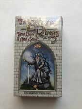 The Lord Of The Rings Tarot Deck & Card Game- 1996 U.S. Games System Inc Tolkien