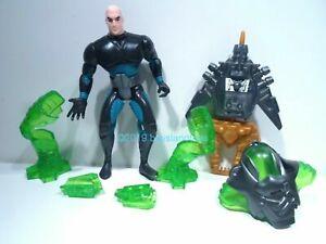 Superman Animated Series Kenner Lex Luthor Kyrptonite Armor Action Figure 1995