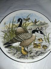 """Game Birds of the South Collector Plate """"CANADA GOOSE"""" Southern Living Gallery"""