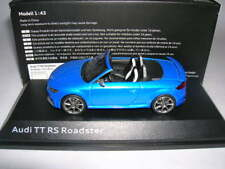 Audi TT RS Roadster 2016 1/43 Iscale (Ara Blue)