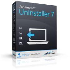 Ashampoo UnInstaller 7 dt.Vollversion lifetime Download 14,99 statt 39,99 !
