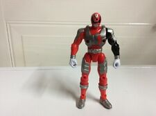 Power Rangers SPD  Battlized Red Power Ranger 1 Action Figure 2005 Bandai 6""