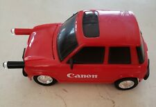 Collectible Canon Red Car with Pop Out Pen Lights and Brush for Motor (Pre-Owned