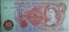 Bank of England 10 shillings note O´Brien