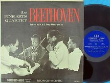 Fine Arts Quartet ORIG US LP Beethoven Quartet No. 14 Opus 131 EX MONO 60s