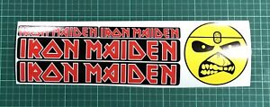 X5 Iron Maiden Sticker Decal Music Rock Metal Metallica Car Window Laptop lid