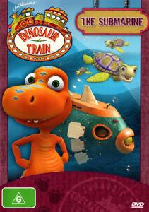 Dinosaur Train DVD  - THE SUBMARINE  8 EPISODES !! BOYS KIDS CARTOONS Ex rental