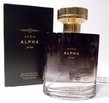 AVON Alpha For Him Eau de Toilette Genuine Perfume 75 ml