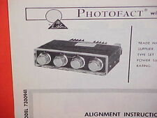 1967 CHEVROLET CAMARO CHEVELLE SS CORVAIR FM STEREO ADAPTER RADIO SERVICE MANUAL