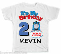 Personalized It's My Birthday Thomas The Train T-Shirt