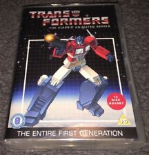 Transformers DVD Boxset The Classic Animated Series 1-4 Entire First Generation