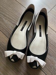 Melissa Peeptoe-Ballerinas Gr.40 /US 9