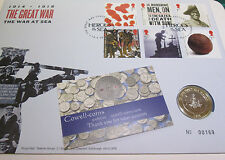 UK 2015 The Great War 1914-1918 Navy Royal Mint BUnc £2 Two Pound Coin Cover PNC