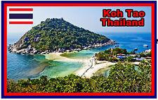 KOH TAO, THAILAND - SOUVENIR NOVELTY FRIDGE MAGNET - NEW - GIFT