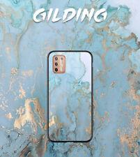 MOTO G9 Play/E6s/G 5G Pus/Edge/E7 Power/G30 Case Soft Cover Fashion Marble Print
