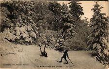 CPA   Montagnes du Doubs - Le Ski   (183397)