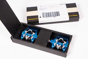 KCNC KPED09 Pedals Lightweight MTB Clipless Platform Pedals Blue