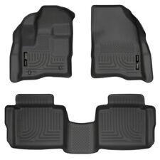 Husky Liners Floor Liner Set (Black) For Ford Taurus 10-18 98701