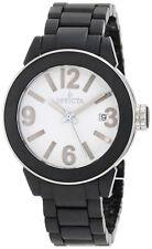 Invicta 1164 Ceramics White Dial Black Ceramic Bracelet Women's Watch