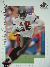 NFL 83 Keyshawn Johnson Tampa Bay Buccaneers Topps 2000 SP Authentic