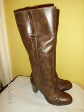 Next Brown Real Leather Boots SIZE: UK 4 EU 37