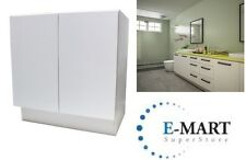 "New listing 27"" European Style Door Bathroom Vanity Plywood Cabinet White Crocodile Pattern"
