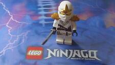 LEGO Ninjago Minifigure Zane ZX White Ninja
