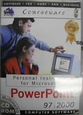 PERSONAL INSTRUCTOR MICROSOFT POWERPOINT 97/2000 New!
