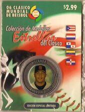 ANDRUW JONES Baseball World Classic Puerto Rico 2006 Limited Edition Holland