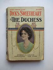 DICK'S SWEETHEART/AMID SUNNY MEADOWS Duchess 1920s Select Library No.162 A476