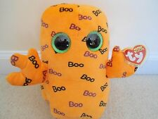 "Ty, Ghoulie,2016 Release Halloween Boo, 6"" tall, Halloween Orange Ghoul.Cute/TPd"