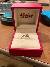 14k Kessler White Gold Anniversary  Diamond Ring Lot 8