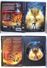 BIONICLE Mask Of Light IL FILM THE LEGO 2003 DVD OTTIMO ANIMAZIONE 3D MOVIE