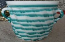 Gmundner Keramik Gugelhupfform, grüngeflammt, gebraucht