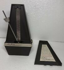 Seth Thomas Plastic Metronome De Maelzel Model 1104B