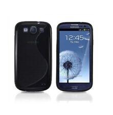 Étuis, housses et coques Samsung Galaxy S en silicone, caoutchouc, gel pour téléphone mobile et assistant personnel (PDA) Apple