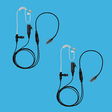 2x Store Mall Security Durable Earpiece Earphone for ICOM Radio IC-Q7A