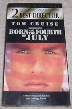 Born on the 4th of July VHS Video Tom Cruise
