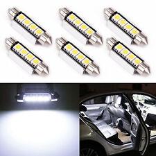 10x 42MM 5050 4-SMD Car Festoon Dome Map Car LED Light CANBUS Bulbs DC 12V