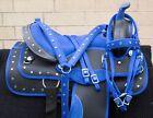 HORSE SADDLE WESTERN USED TRAIL ALL PURPOSE CORDURA TACK PAD 14 15 16 17 18