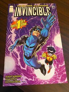 Invincible #51 Jim Lee Cover Kirkman Image VF Amazon Prime 2008
