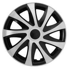 "4x15"" Wheel trims wheel covers for Seat Ibiza 15"" silver-black"
