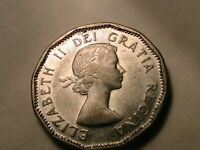 1954 Canada Five Cent Choice BU Semi-Prooflike Elizabeth Canadian Nickel 5C Coin