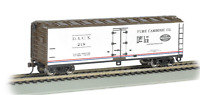 HO Gauge Bachmann Freight 19805 40' Pure Carbonic Company Wood Reefer Car