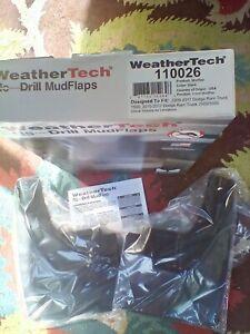 WeatherTech Mudflap 110026, 2009-2017 Dodge Ram 1500, 2010-2017 Ram 2500/3500