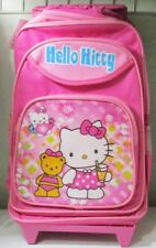 Hello Kitty Rolling Backpack Luggage Bag With Wheels