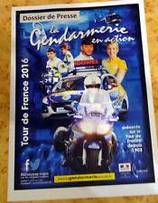 Dossier Presse Gendarmerie - Caravane Tour de France 2016