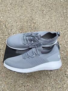 Footjoy Flex XP size 14 M Men's Casual golf shoe Spikeless Grey