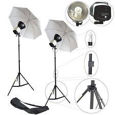 300W DynaSun 2x CY25W Photo Studio Light Lighting with Stand and Umbrella